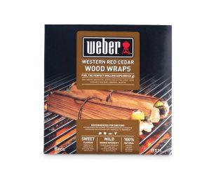 Weber wraps da affumicatura - cedro rosso del pacifico.