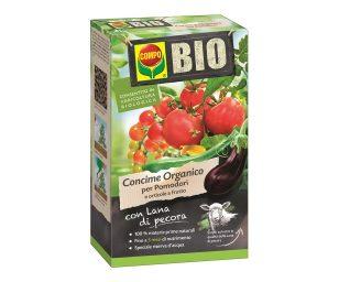 Compo bio lana di pecora pomodori e orticole a frutto 750 g.