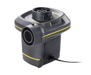 Pompa elettrica per gonfiaggio/sgonfiaggio (uso interno e/o esterno).