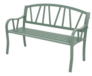 Panchina ferro odense verde cm 57x128x86h.