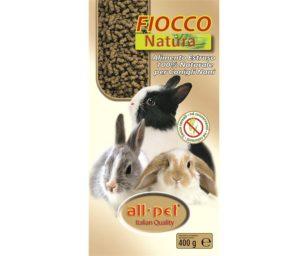 All pet fiocco natura per conigli nani 400 g.