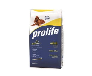Prolife adult medium pollo 15 kg.