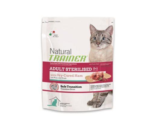 Trainer natural cat adult sterilized ham 300 g.