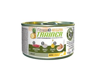 Trainer fitness 3 duck&rice mini 150 g.