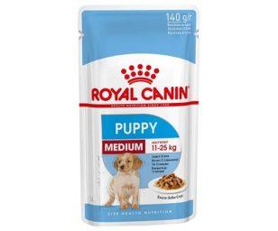Royal canin medium puppy 140 g.