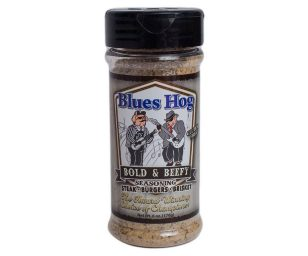 Blues hog bbq 'bold & beefy' seasoning.