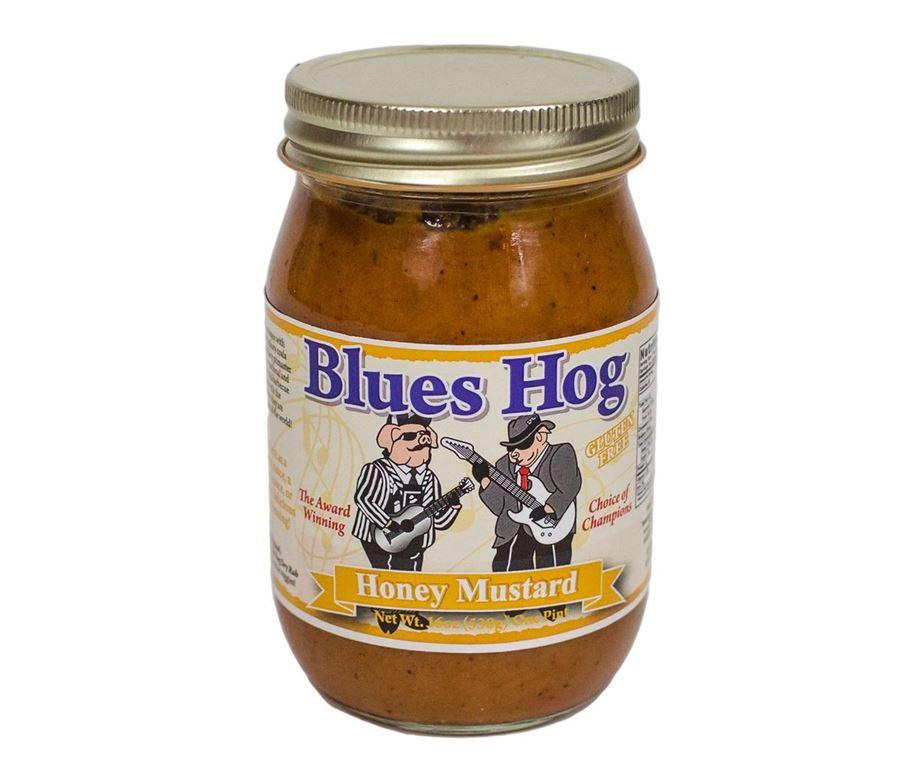 Blues hog 'honey mustard' bbq sauce.