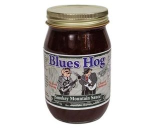Blues hog 'smokey mountain' bbq sauce.