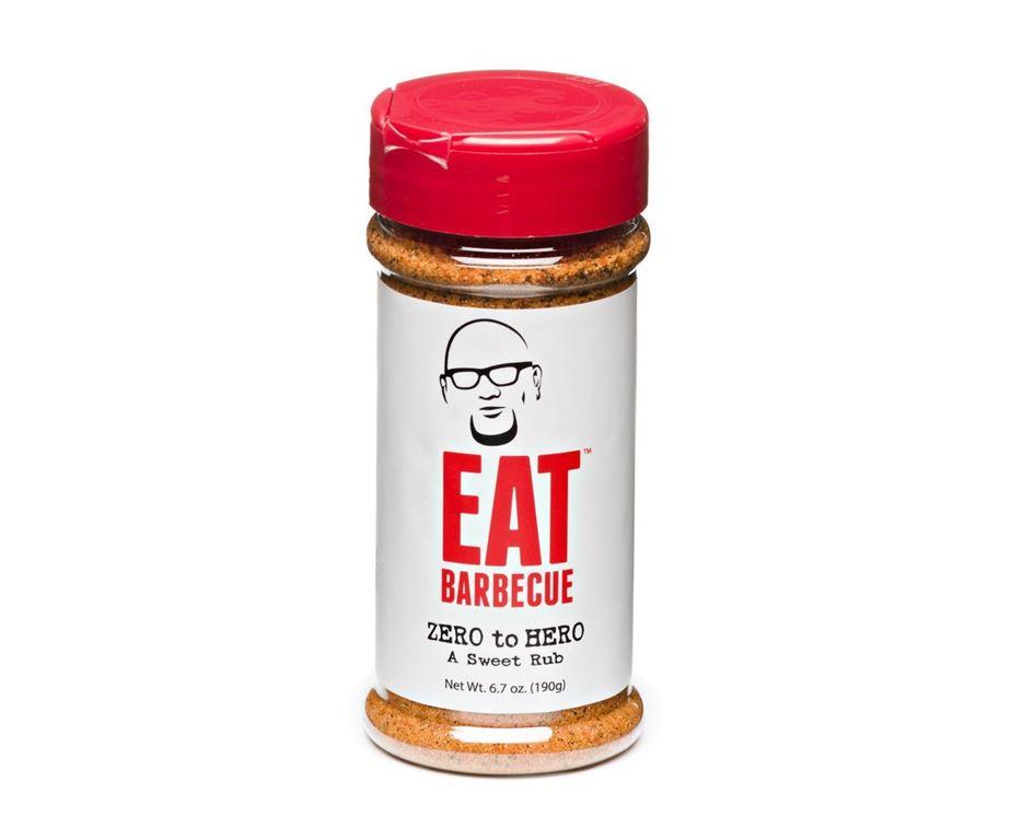 Eat bbq 'zero to hero' sweet bbq rub 190 g.