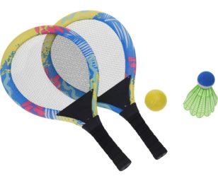 Set da tennis/volano xl 4 pz.