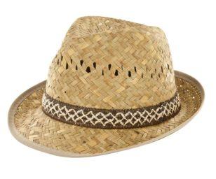 Cappello borsalino beige 60.