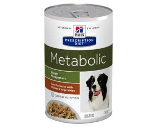 Hills metabolic canine spezzatino 354 g.