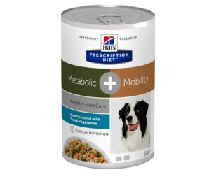 Hills metabolic + mobility canine spezzatino 354 g.