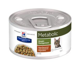 Hills metabolic feline spezzatino 82 g.