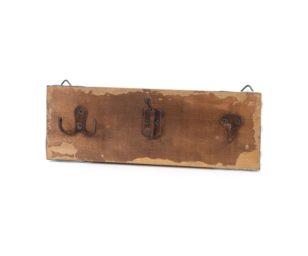 Appendiabiti legno marrone.