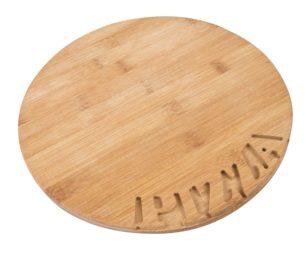 Piatto pizza bamboo cm 28.
