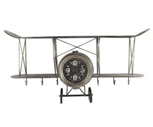 Appendiabiti orologio louis nero cm 67x18x37h.