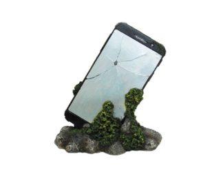 Cellulare su pietra cm 16.