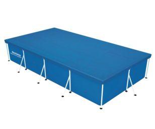 Telo copertura per piscina steel pro frame cm 400x211x81.