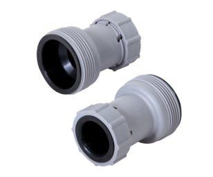 Adattatore per tubo dal 38 al 32 mm. Rende universali le pompe filtro 58122 e 58221