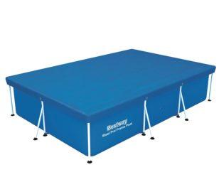 Telo copertura per piscina steel pro frame cm 300x201x66.