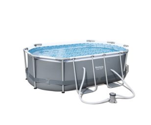 Piscina ovale power steel frame cm 300x200x84.
