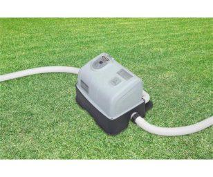 Generatore salino di cloro e ozono.