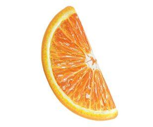 Materassino spicchio di arancia cm 178x85 con stampa realistica.