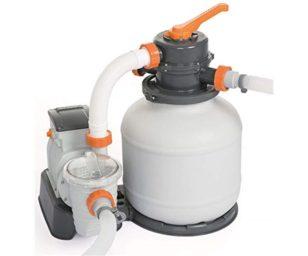 Bestway pompa di filtraggio a sabbia flowclear 3.785 l/h.