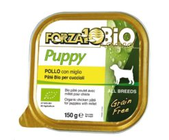 Forza 10 every bio dog puppy pollo miglio 150 g.