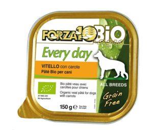 Forza 10 every bio dog vitello carote oliogir 150 g.