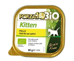 Forza 10 every bio cat kitten pollo 85 g.