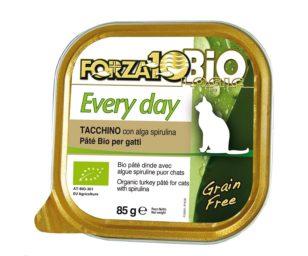 Forza 10 every bio cat tacchino alga oliogir 85 g.