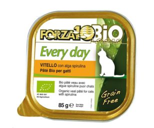 Forza 10 every bio cat vitello alga oliogir 85 g.
