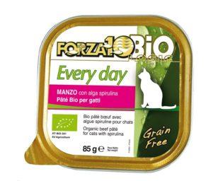 Forza 10 every bio cat manzo alga oliogir 85 g.