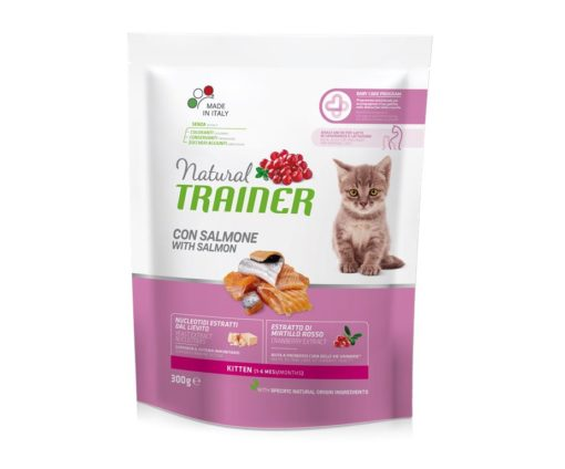 Trainer natural cat kitten salmon 300 g.