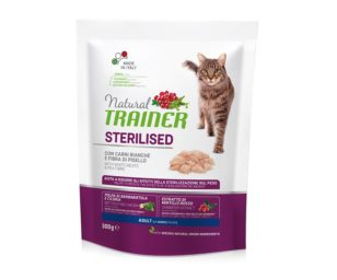 Trainer natural cat sterilized white meat 300 g.