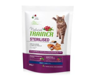 Trainer natural cat sterilized salmon 300 g.