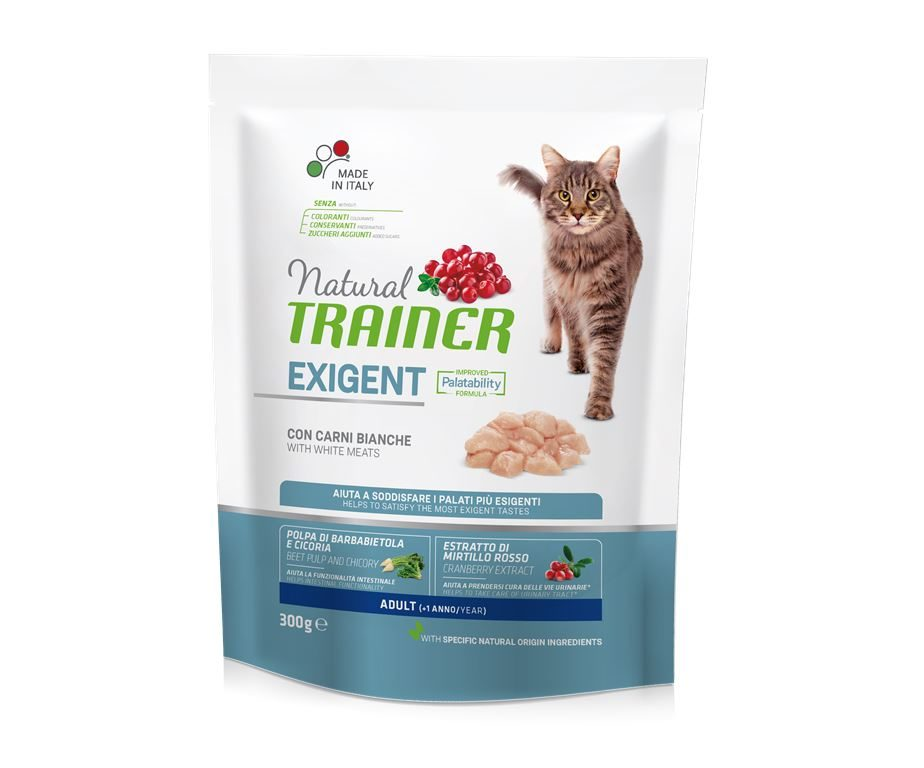 Trainer natural cat exigent white meat 300 g.