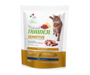 Trainer natural cat sensitive duck 300 g.
