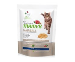 Trainer natural cat hairball chicken 300 g.