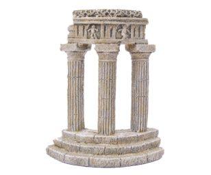 Mantovani decorazione colonnato chiaro.
