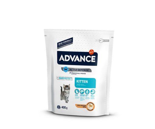 Affinity advance cat kitten chicken&rice 400 g.