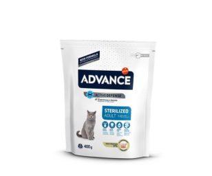 Affinity advance cat sterilized turkey 400 g.