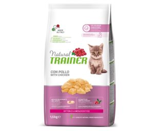Trainer natural cat kitten chicken 1