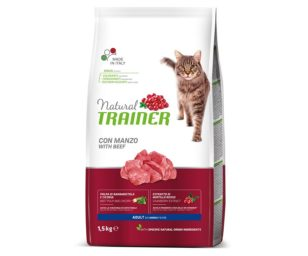 Trainer natural cat adult beef 1
