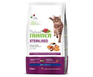 Trainer natural cat sterilized salmon 1
