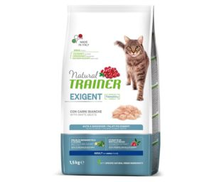 Trainer natural cat exigent white meat 1