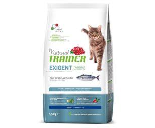 Trainer natural cat exigent blue fish 1