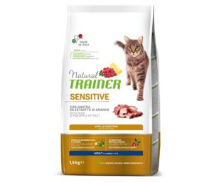 Trainer natural cat sensitive duck 1
